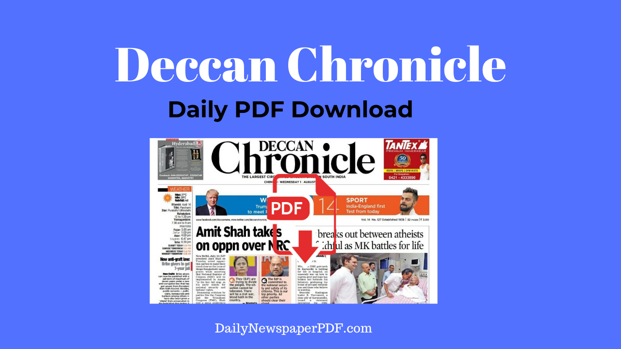 Deccan Chronicle Epaper PDF