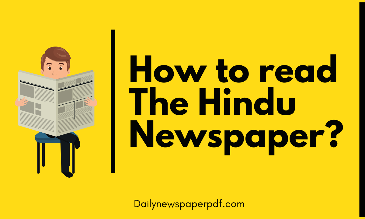 Strategy to read The Hindu