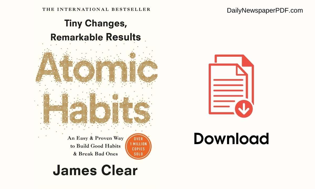atomic habits pdf