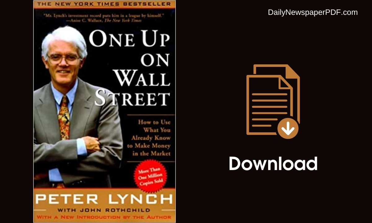 One up on Wall Street PDF